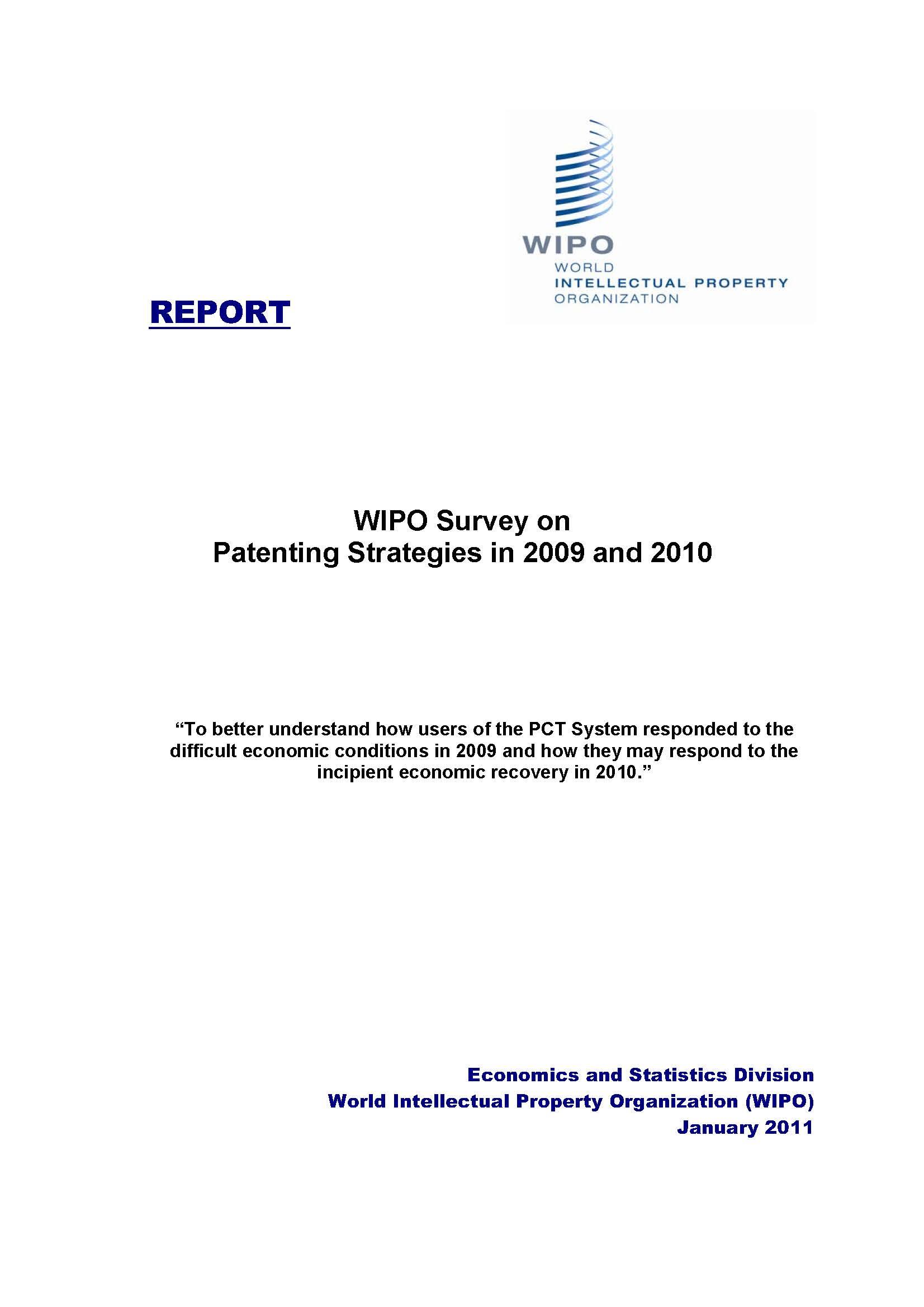 WIPO/PUB/ECONSTAT/SV1/EN