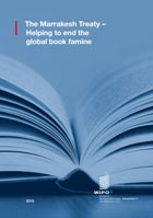 Front cover of   Helping to end the global book famine - Introduction to the Marrakesh Treaty