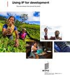Page de couverture de la publication Utilisation de la propriété intellectuelle au service du développement
