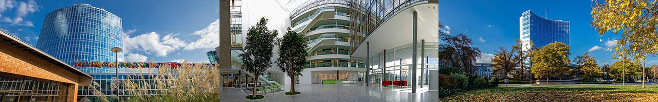 Images of the WIPO campus