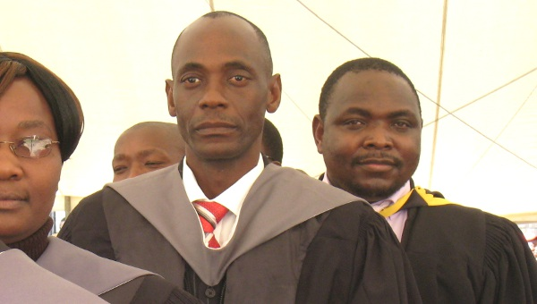 Students graduating from the MIP program at Africa University
