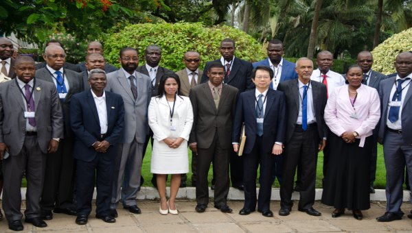 A high-level meeting of African parliamentarians under the auspices of Japan FIT/IP