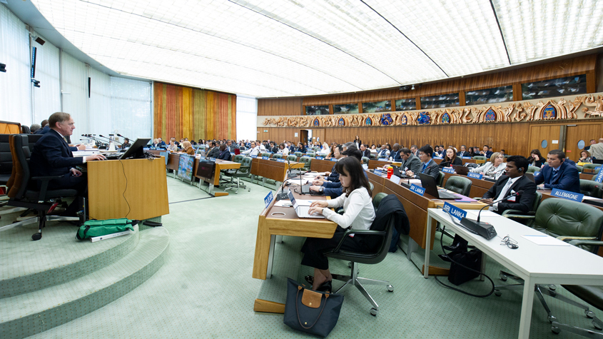 the WIPO Advisory Committee on Enforcement (ACE) is taking place at the WIPO headquarters