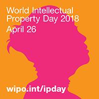 Światowy Dzień IP 2018, piktogram