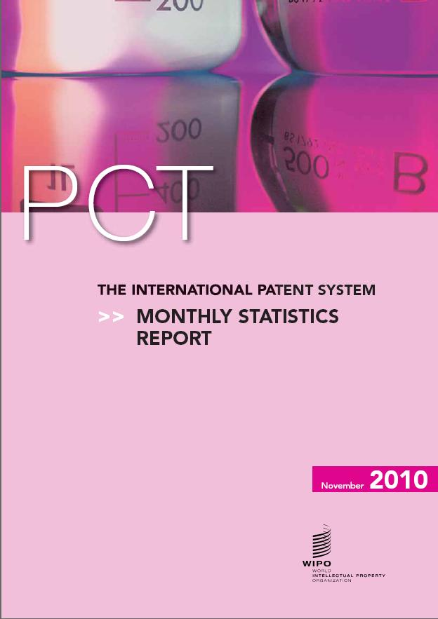 The International Patent System: Monthly Statistics Report