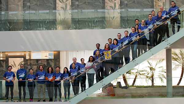 WIPO staff group photo