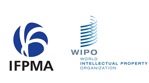 IFPMA and WIPO logos
