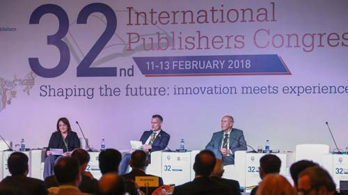 International Publishers' Association (IPA) Congress in New Delhi on February 11, 2018