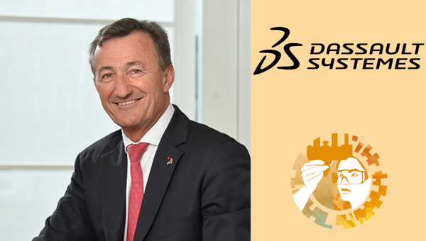 Photo of Bernard Charlès, Vice Chairman and CEO, Dassault Systèmes