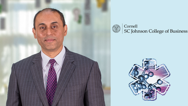 Photo of Soumitra Dutta, Former Dean and Professor of Management, Cornell University, a GII co-publisher