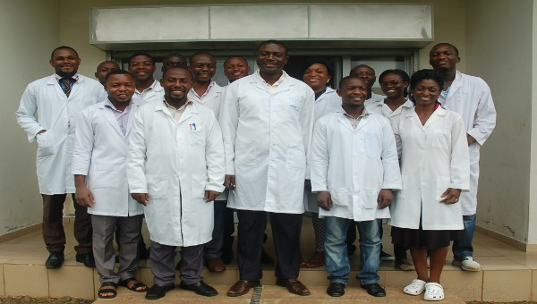 Researchers in Cameroon