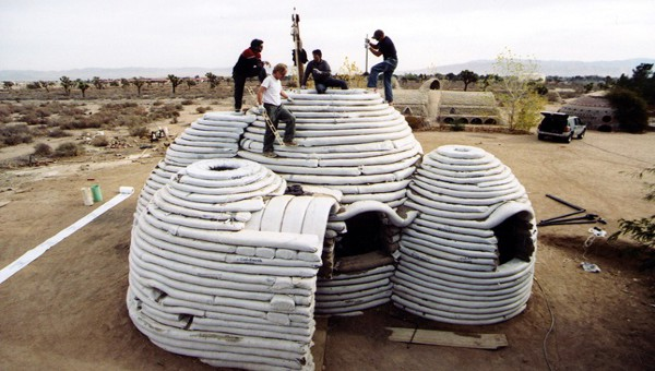 The patented and eco-friendly SuperAdobe structure