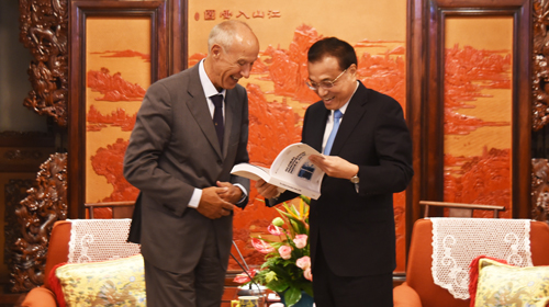 WIPO DG Visits China, Meets Premier Li Keqiangy
