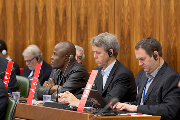 Accredited observers at a WIPO meeting