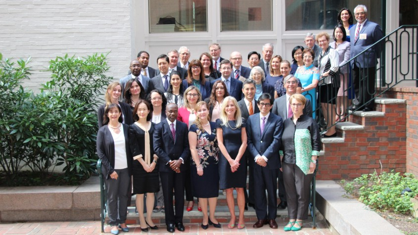 Group photo of WIPO's Master Dialogue on IP Adjudication – Judicial Perspectives