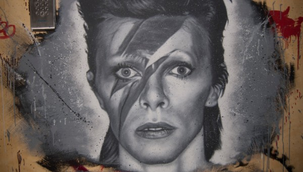 David Bowie - Image by Thierry Ehrmann, via Flickr under a Creative Commons Attribution 2.0 Generic license
