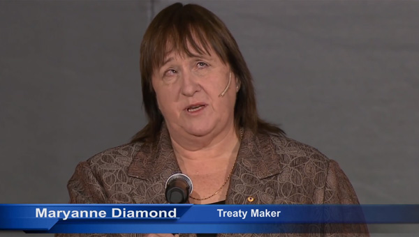Maryanne Diamond calls in a TEDx talk for government action on a treaty designed to help provide visually impaired people with specially adapted books