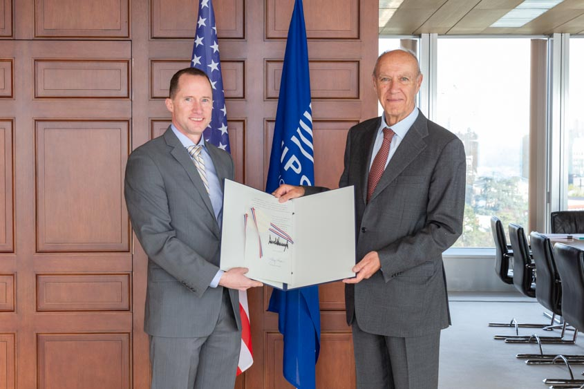 WIPO Director General Francis Gurry from Mark Cassayre, Chargé d'Affaires of the U.S. Mission to the United Nations in Geneva