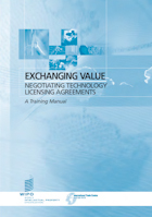 PDF, Exchanging Value (advice on concluding technology licensing agreements)