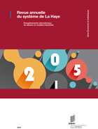 PDF, Hague Yearly Review: International Registrations of Industrial Designs, 2015 edition