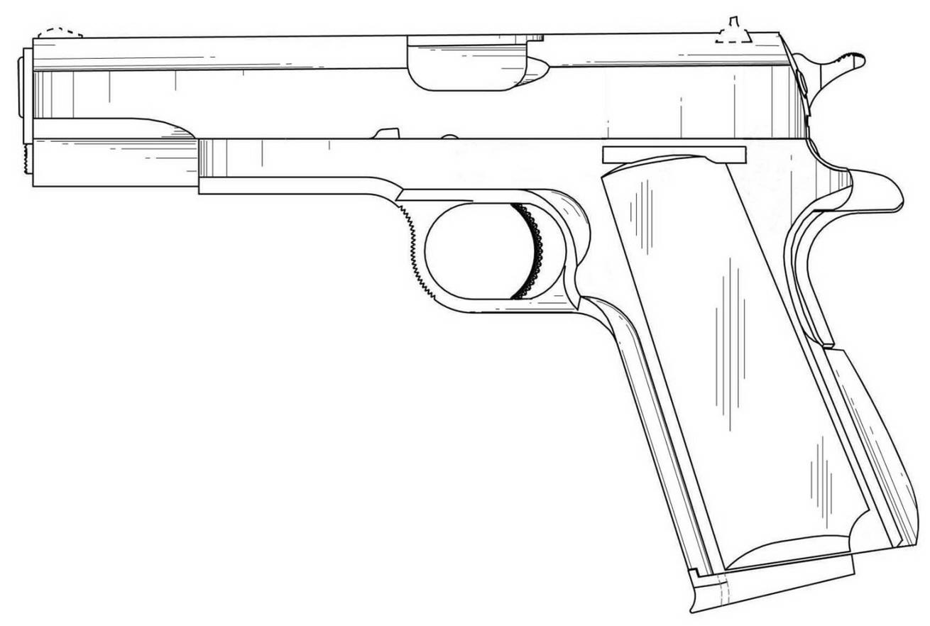 index of idpub 12 2013 080333 1911 Colt Marine Pistol m001 003